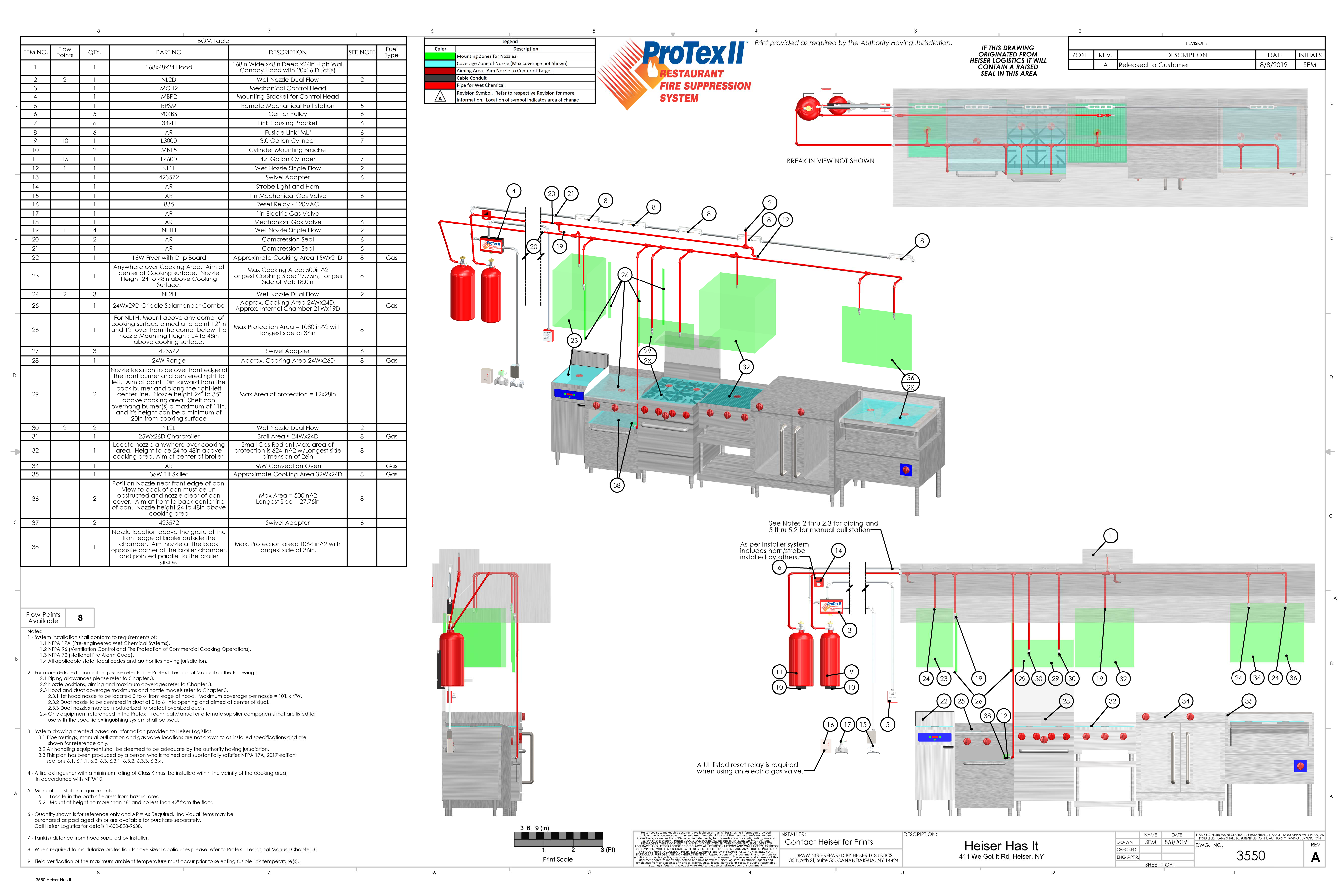 Heiser Protex CAD Drawing